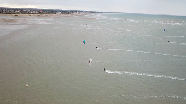 spot de kitesurf d'houlgate